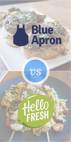 Hello Fresh was one of the very first boxes we reviewed on this blog, and we've been raving about Blue Apron for the last week or so. So how do they compare? We'll be sharing what we liked and didn't like so much about both of these boxes. In the end, though, we are only comparing one week from each