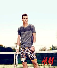Tomas Berdych for 2014 H&M US Open Tennis Collection