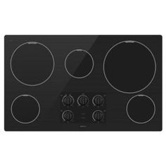 #5: Maytag MEC7536WB 36 Smoothtop Electric Cooktop - Black