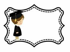 Graduation Crafts, Preschool Graduation, Graduation Photos, Graduation Invitations, Success Wishes, School Clipart, Queen Art, Preschool Games, School Frame