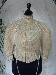 antique blouse HB