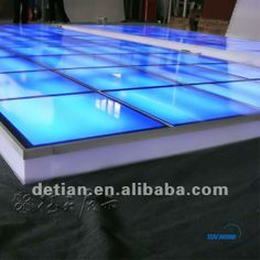 Exhibition Lighting raised floor,portable glass platform stage for trade show $36~$180