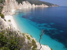 Fteri Beach, Kefalonia, Greece