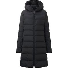 Shop UNIQLO for women's outerwear. Choose from our signature ultra light down, and a variety of other women's jackets and coats in different fabrics and styles. UNIQLO US. Uniqlo Women Outfit, Coats For Women, Jackets For Women, Nyc Girl, Black Down, Down Coat, Outerwear Women, Vest Jacket, Mantel