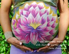 Heather's Living Art  in St. Augustine, FL. Give a gift card for a free belly…
