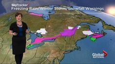 cool Weather Videos - Environment Canada has issued severe weather warnings for eastern Canada #Weather and  #News