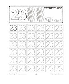 ... Number Tracing on Pinterest | Number Tracing, Worksheets and Numbers