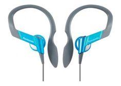Panasonic RPHS33 Sport Headphones - Blue