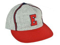 1939 Elizabeth Red Sox Fitted Baseball Cap by EBBETS FIELD FLANNELS