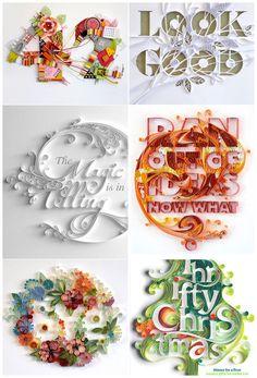 Typography by Yulia Brodskaya