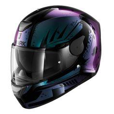 Casque moto Shark D-Skwal Dharkov Noir Violet Aqua Purple Motorcycle Helmet, Womens Motorcycle Helmets, Motorcycle Outfit, Motorcycle Accessories, Biker Helmets, Racing Helmets, Motorcycle Bike, Moto Violet, Flip Flop Lack