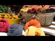 De Madrid, a teñir lana de manera artesanal en Garganta de los Montes - YouTube Loom Weaving, Lana, Picnic, Basket, Madrid, How To Make, Crafts, Textiles, Videos