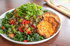 Adzuki Bean & Quinoa Tabbouleh Salad...these beans are really healthy and are also fat-fighting!  {Oh She Glows}
