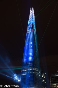 'The Shard', London and Europe's tallest skyscraper, officially unveiled on Thursday 5 July 2012