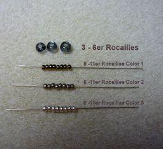 Der Versuch einer Anleitung für meine Dreifach-Spiralrope.       Ich hoffe die Bilder sprechen für sich.       3 - 6er Roc und 8 - 11er Ro...