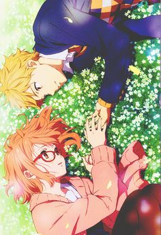 Your life is a collection of your choices. Kyoukai no Kanata