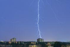 Blitz Gewitter Rummelsburg
