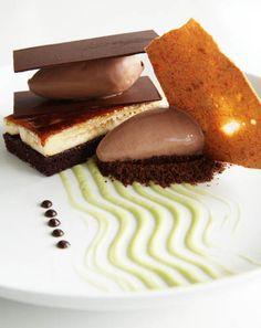 Chocolate Mille Feuille, Chef Morimoto
