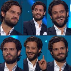 Prince Carl Philip of Sweden at the swedish TV show…