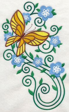 Machine Embroidery Designs at Embroidery Library! - Color Change - J7034 41814