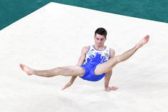 Max Whitlock of Great Britain competes in the Men's Floor Exercise Final on Day 9 of the Rio 2016 Olympic Games at the Rio Olympic Arena on August 14, 2016 in Rio de Janeiro, Brazil.