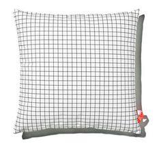 Grid print cushion by BALlab