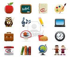 Icon set - School & Education