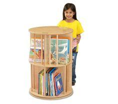 Book Go Round kid's book storage carousel.
