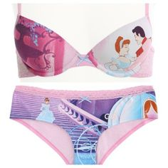 New Cinderella underwear set from Hot Topic