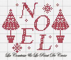 La Comtesse & Le Point De Croix: Natale un po' jacquard
