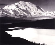 Ansel Adams, Mount McKinley and Wonder Lake, Denali National Park and Preserve, Alaska, 1947