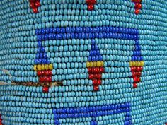 Native american indian beadwork/leather mocassins by 120maron, via Flickr