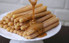 CHUCRÊ - Churros Gourmet Dessert Drinks, Desserts, Food Wishes, Macaroni And Cheese, Waffles, Food And Drink, Chocolate, Vegetables, Breakfast