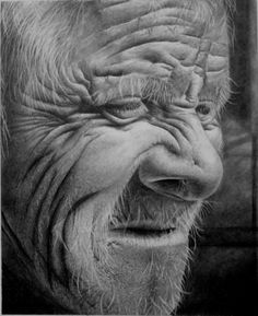 Beautiful! The wrinkles have so much depth.