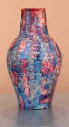 #CAPCA | Paul Katrich Pottery | Purple Twilight | Luster Vessel 1652 | Unique and rather extraordinary pottery (for unique and extraordinary people)