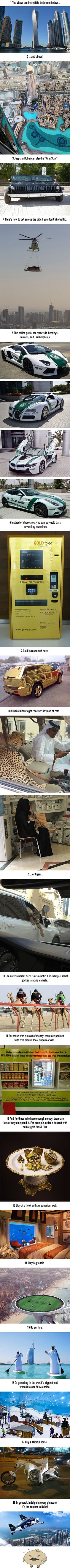 18 Incredible Things That Are Possible Only in Dubai - 9GAG