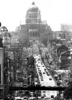 Paris Skyline, New York Skyline, Brussels Belgium, Vintage Postcards, Old Photos, The Past, Images, Urban, Black And White
