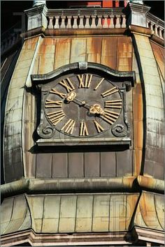 Image detail for -Photo of Tower clock of the famous St. Peter Church(Old town, Riga ...