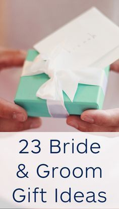 23 Presents For The Bride Groom Gift Exchange Our Wedding Daywedding