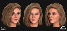 A selection of the driver heads and hairstyles we worked on during the production of Forza Horizon The title was extremely well received winning the award for Best Sports/Racing Game at the Game Awards and received a 91 on Metacritic. Forza Horizon 3, Lady, Hair Styles, Image, Game Character, Cgi, Awards, Racing, Tutorials