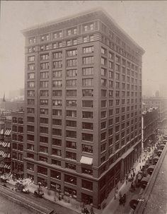 Marquette Building, Chicago - A. D. White Architectural Photographs, Cornell University Library