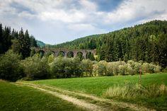 Chmarošský viadukt – železničný most pri Telgárte - PlanetSlovakia.sk Bridge, Bridges, Attic, Bro