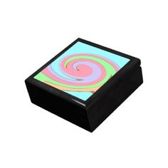 Pastel Rainbow Box Jewelry Box