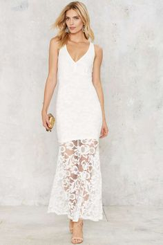 WYLDR Hannah Lace Dress - Clothes | Midi + Maxi | Summer Whites | All Party