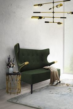 Showcased at Maison et Objet 2017, SIKA Two Seat Sofa is an imposing furniture piece that will add fierceness to any interior design project. Place it in your living room for a bold yet comforting feel.  https://www.brabbu.com/en/inspiration-and-ideas/