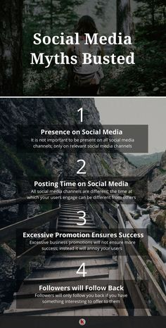 Social media is a powerful tool for any online marketer. Here are some common myths about social media that businesses are unaware of-RedAlkemi Social Media Marketing Manager, Digital Marketing Strategy, Marketing Ideas, Marketing Tools, How To Focus Better, Social Media Quotes, Thing 1, Social Media Channels, Digimon