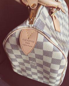 cac494bd02 Louis Vuitton - Speedy Azur Louis Vuitton Handbags Black, Louis Vuitton  Shoes, Vuitton Bag