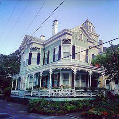 Historic downtown, Savannah, Georgia