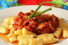 Nhoque de mandioquinha #recipes #receitas
