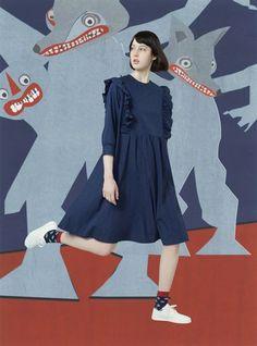 Maison Kitsuné Autumn/Winter 2017 Pre-Fall Collection | British Vogue